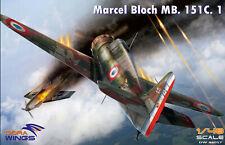 NEW!!! Dora Wings 1/48 Bloch MB.151 plastic kit