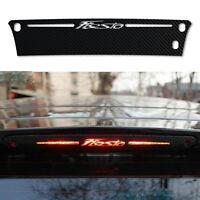 Adesivo sticker fibra carbonio terzo stop auto Ford Fiesta 2009 2015 car styling