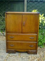 Mid Century Oak Tallboy/Chest of Drawers/Storage