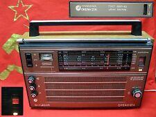 Legendary Vintage Radio Ocean-214 Factory Gorizont Ussr Soviet Union 80s