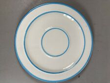 """Stangl Handpainted Pottery """"Bachelors Button"""" 6 Inch Saucer"""