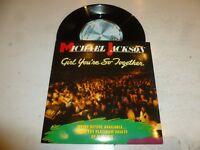 "MICHAEL JACKSON - Girl You're So Together - 1984 UK 7"" vinyl single"