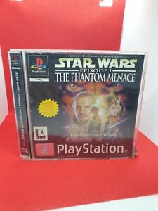 Star Wars Episode 1 The Phantom Menace Playstation PS1