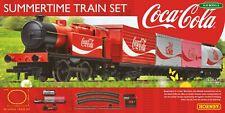 More details for bnib oo gauge hornby r1276 summertime coca-cola train set