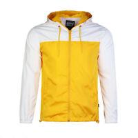 Beautiful Giant Men's Hood Outwear Cycling Yellow White Windbreaker Jacket Gift