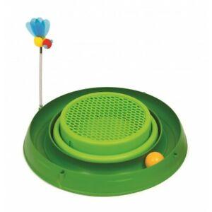 Catit Play 3 in 1 Circuit Ball Toy w/Cat Grass Pad - Pet Toy - Pet Fun