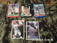 Mixed Lot of 20 Baseball Sports Cards (LOT #23) 1983-1994