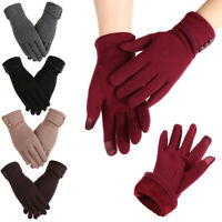 Windproof Touch Screen Gloves Skiing Gloves Driving Mittens Plus Velvet
