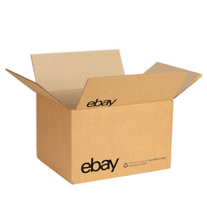 """eBay-Branded Boxes With Black Color Logo 10"""" x 8"""" x 6"""""""