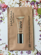 MADARA Organic Skincare SOS EYE REVIVE HYDRA CREAM & MASK Sachets Sample 10 ml
