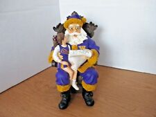 University of Washington Huskies~WISHLIST SANTA FIGURINE~2nd in Limited Series