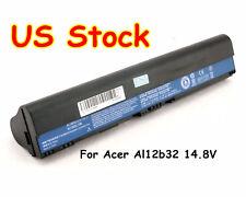 Battery for Acer Aspire One 725 AL12X32 AL12A31 AL12B31 AL12B32 C710 Chromebook