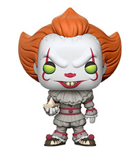 FUNKO POP! Movies IT PENNYWISE WITH BOAT #472 Vinyl Figure - NEW