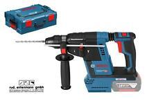 Bosch Akku-Bohrhammer GBH 18V-26 SC Clic&go 0611909001 L-Boxx SDS-Plus