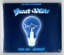 CD ★ GREAT WHITE - THANK YOU...GOODNIGHT ★ NEUF SOUS BLISTER