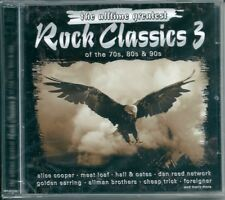 Rock Classics 3 (2002) 2CD NUOVO Sweet, Hall & Oates, Accept, Meat Loaf Forigner