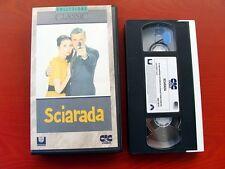 VHS.04) SCIARADA - CIC VIDEO (CARY GRANT, AUDREY HEPBURN, WALTER MATTHAU)