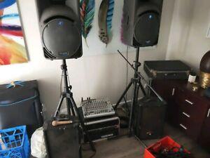 PA band sound system