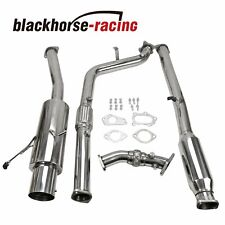 "For 02-07 Wrx/Sti Gd/Gg Ej 4.5""Tip Racing Turboback/Catback+Down+Up Pipe Exhaust"