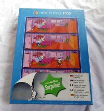 Heye Puzzle 1000 Teile - Mordillo Surprise Bedroom (2013) - Neu