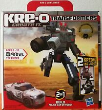 NEW Kre-o Transformers 30690 PROWL 2-in-1 Factory Sealed  (174 pieces )