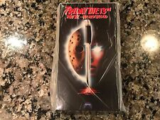 Friday The 13th Part VI The New Blood Factory New VHS! 1987 Homicidal Slasher!