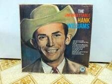 The Unforgettable Hank Williams LP E3733 Cover G/VG Record VG Country Music