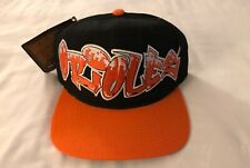 NWT Vintage 90s Baltimore Orioles American Needle Graffiti Logo Drew Snapback DS