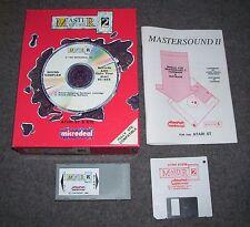 Atari 520 1040 ST STE Mega computer Master Sound 2 sampler cartridge disk BOXED