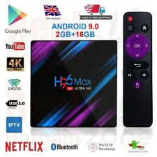 H96 MAX Plus Android 9.0 TV Box 2GB+16GB HD Media Player 4K 2.4G/5GHz Dual WIFI