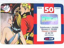 "SCHEDA TELEFONICA RICARICARD-""FLASH GORDON e DALE""-VAL. Lire 50.000-sc. GIU 2002"
