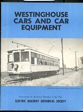 Westinghouse Cars and Car Equipment