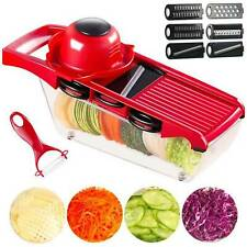 8 Teile Gemüseschneider Julienneschneider Gemüsehobel Küche Multischneider