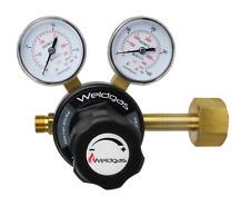 NEVOC FITTING / Argon / CO2 Single Stage 2 Gauge Regulator / 10 Bar / Side Entry