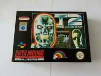 T2 The Arcade Game [Terminator] - Super Nintendo SNES Game [PAL NOE + ESP cart]