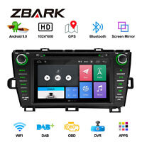 "8"" Android 9.0 Car Radio Stereo Auto DVD Player GPS WiFi  For Toyota Prius LHD"
