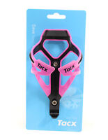 TACX Deva Bicycle Cycling Water Bottle Cage 29 Grams, Pink