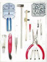 16 tlg Uhren Werkzeug Set,Uhrmacher,Uhrenwerkzeug,Uhrmacherwerkzeug,Werkzeug