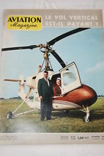 AVIATION MAGAZINE N°304-1960-VOL VERTICAL LES AVIONS BERNARD RUSSIE