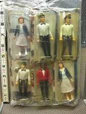 LOVE BOAT beat-up action figures 1981 Whole Set six toys MEGO Stubing Isaac OG