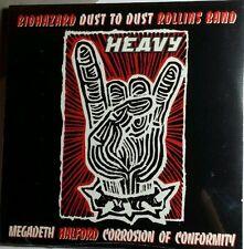 HEAVY SANCTUARY BIOHAZARD MEGADETH ROLLINS CORROSION SAMPLER PROMO 7 SONGS CD