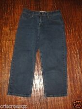 LEVI STRAUSS Signature CAPRI Jeans * STRETCH 5-pkt MED WASH Denim * sz 4 * EUC