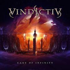 Vindictiv - Cage Of Infinity 2013 Hard Rock / Metal CD Stefan Lindholm