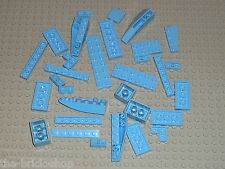 Lot bulk de pieces LEGO de couleur MdBlue