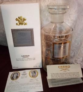 Creed Silver Mountain Water Empty Bottle, 500ml Flacon, Box & Paperwork *EMPTY*
