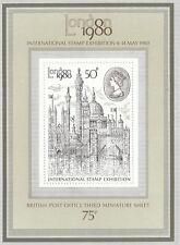(05635) GB MNH London 1980 minisheet unmounted mint