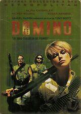 2 DVD ZONE 2 BOITE METAL COLLECTOR--DOMINO--SCOTT/ROURKE/RAMIREZ/KNIGHTLEY