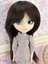 "【HT-1516S】Pullip Taeyang DAL 8.0~9.5"" HP Short Straight Wigs # Dark Brown"