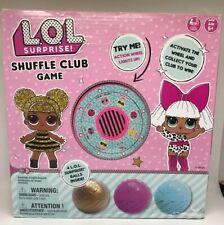 L.O.L SURPRISE SHUFFLE CLUB GAME