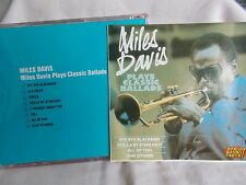 MILES DAVIS - PLAYS CLASSIC BALLADS - OZ 8 TRK CD - JAZZ